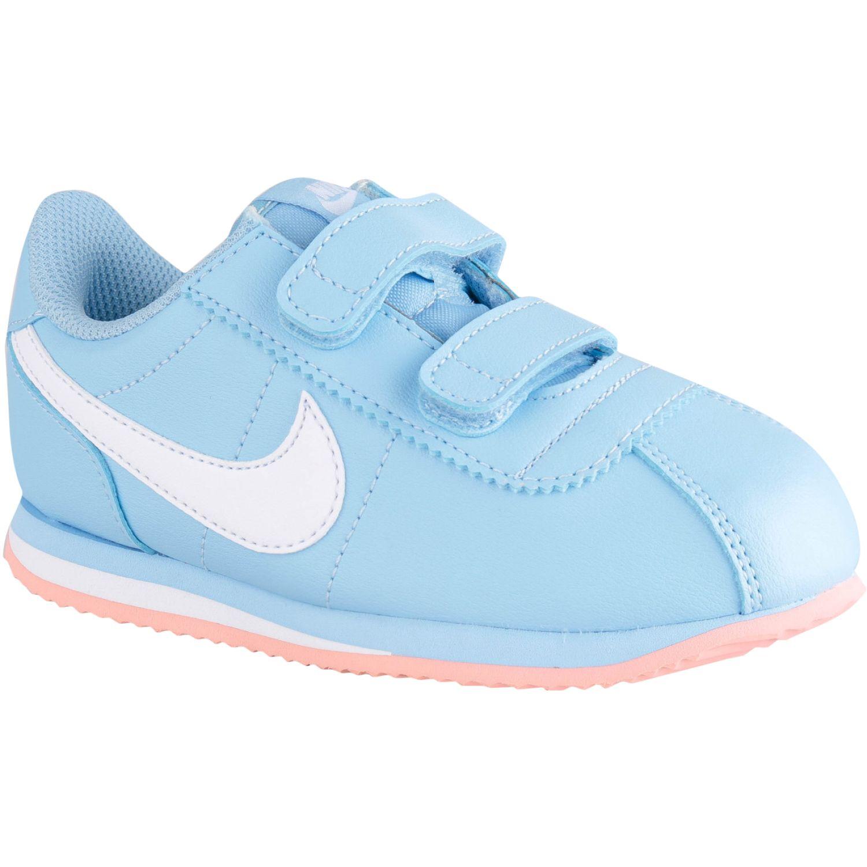 Nike cortez basic sl gtv Celeste / blanco Muchachos