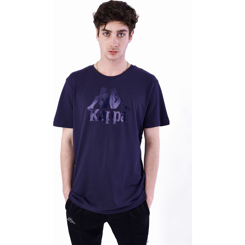 lavandería Dificil Excluir  Kappa AUTHENTIC ESTESSI SLIM Azul / rosado Camisetas y Polos Deportivos |  platanitos.com