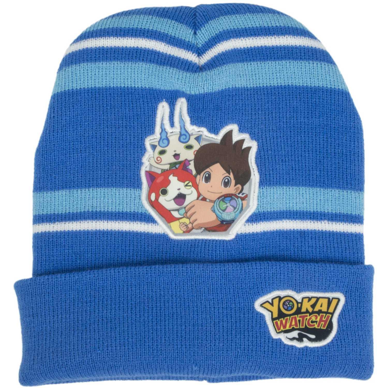 YO-KAI WATCH gorro invierno yokai watch Azul Sombreros y Gorros