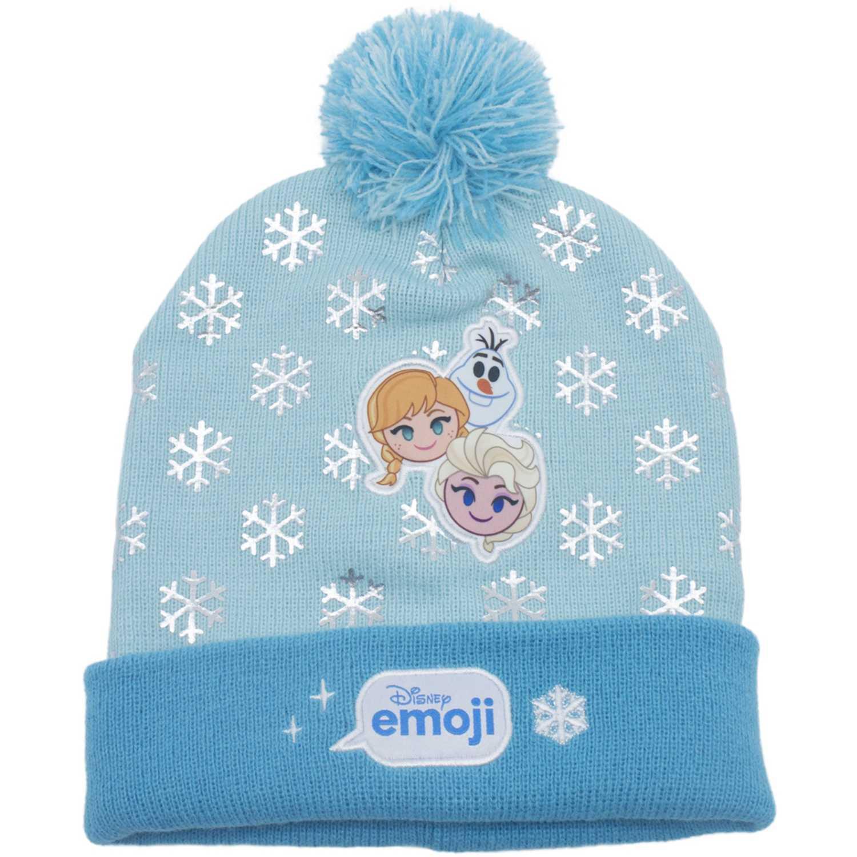 Disney gorro invierno disney emoji Celeste Sombreros y Gorros