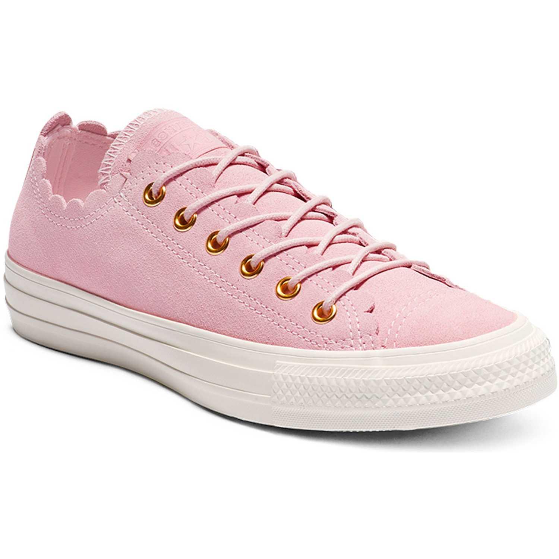 converse mujer rosadas