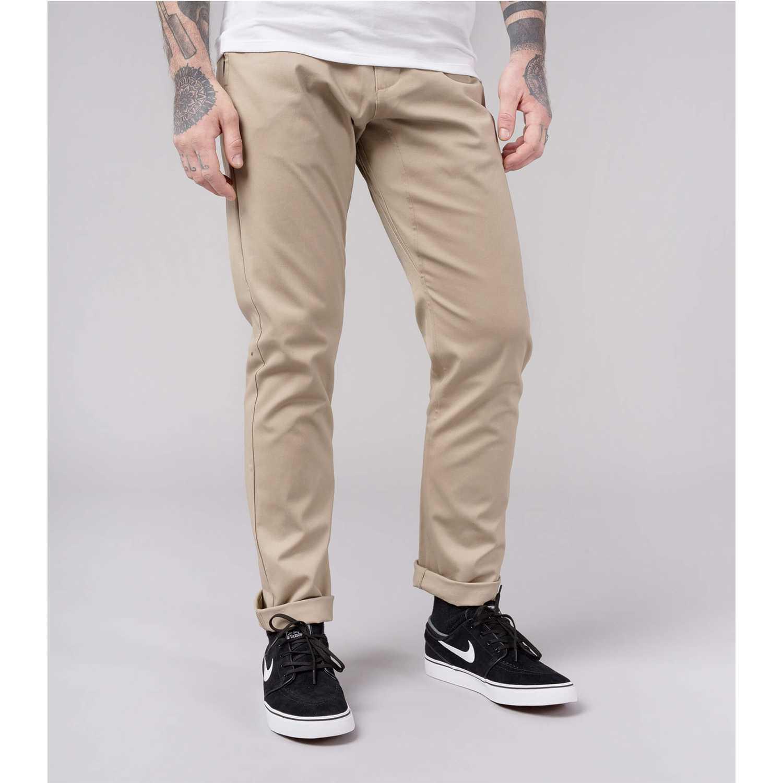Pantalón de Hombre Nike Beige m nk sb flx pant chino icon