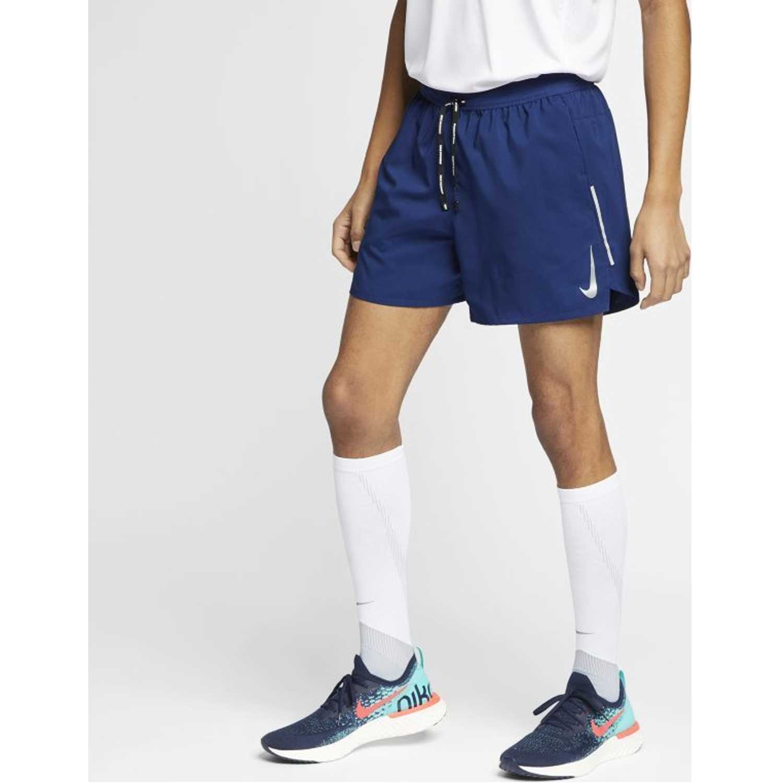 Short de Hombre Nike Azul m nk flx stride short 5in bf