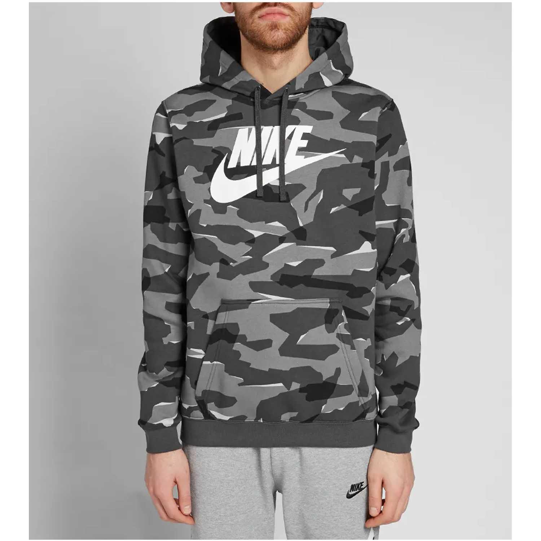 Deportivo de Hombre Nike Camuflado m nsw club camo hoodie po bbgx