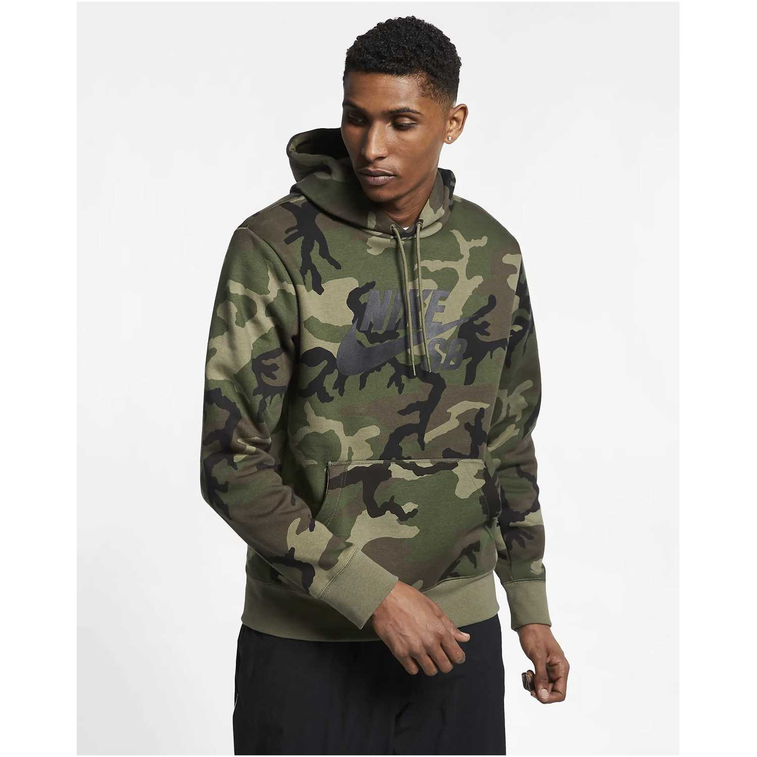 Nike m nk sb hoodie icon erdl Camuflado Hoodies y Sweaters Fashion