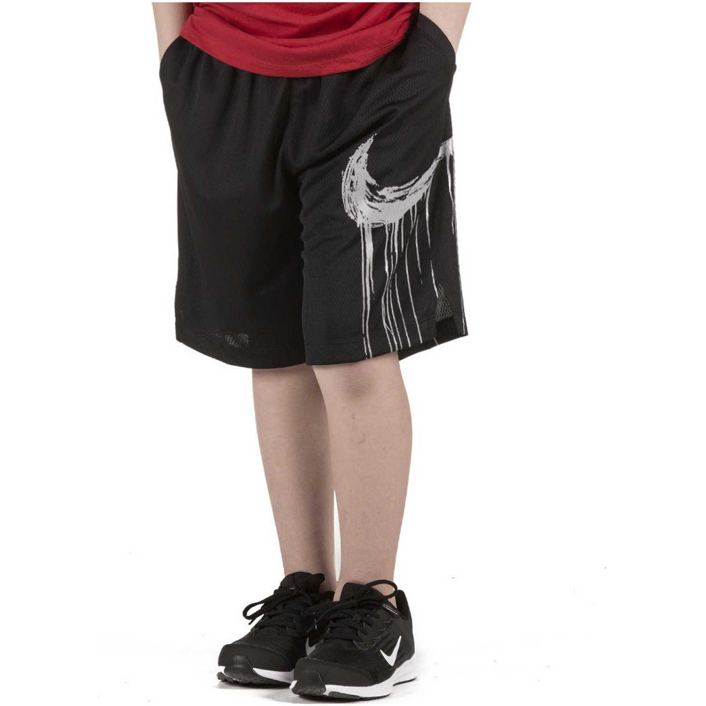 Short de Jovencito Nike Negro / blanco b nk dry short gfx