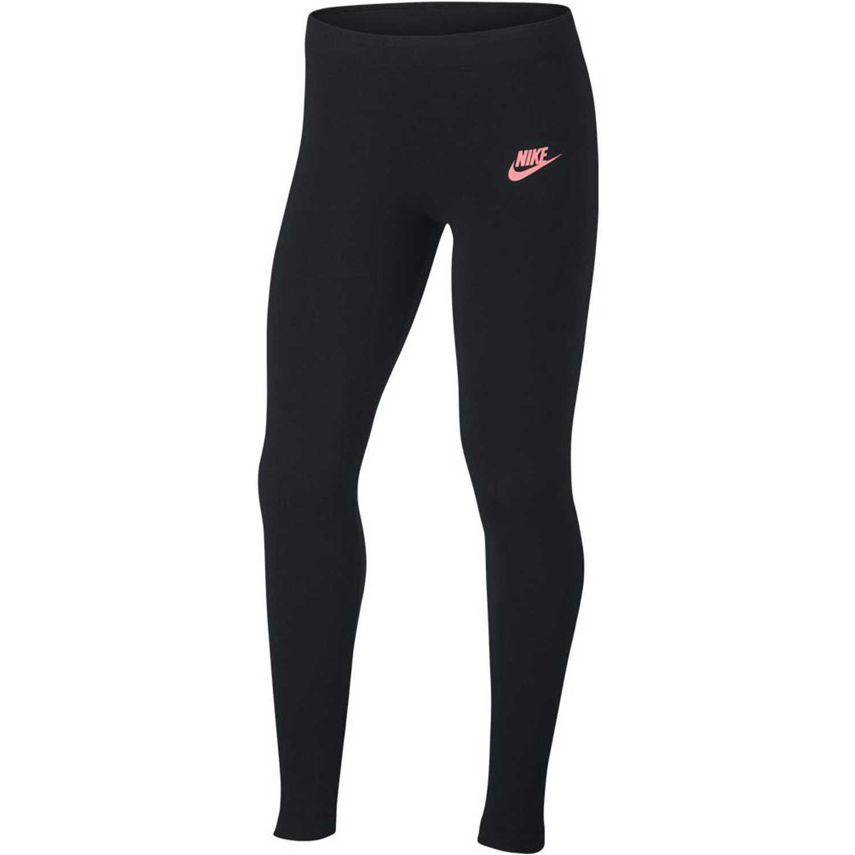 Nike G NSW LGGNG FAVORITE JDI Negro / rosado Leggings