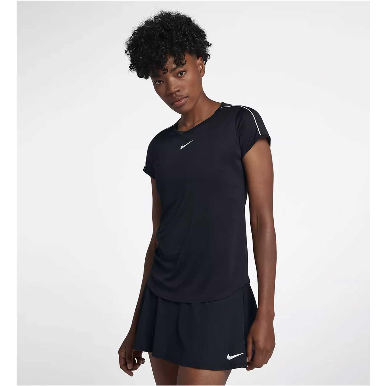 Nike W Nkct Dry Top Negro Polos