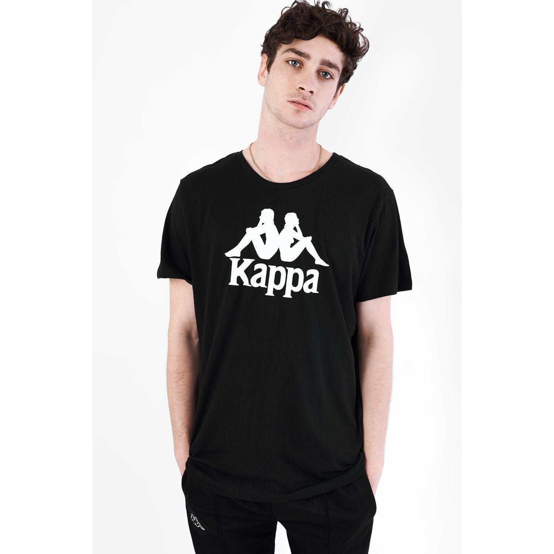 Deportivo de Hombre Kappa Negro / blanco authentic estessi slim