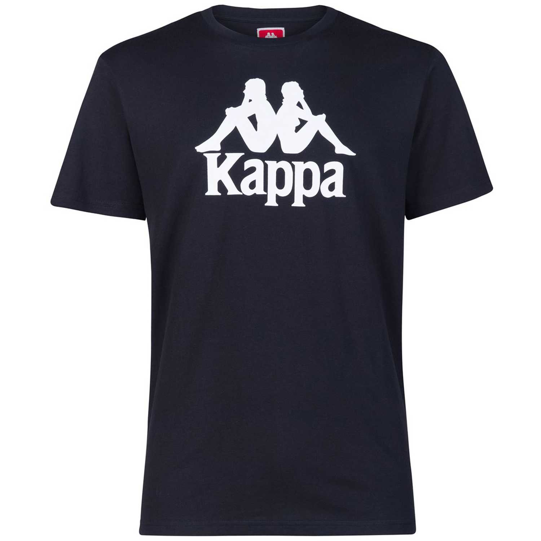 Polo de Hombre Kappa Negro / blanco authentic estessi slim