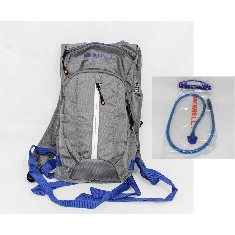 Merrell luton 2.0 w. 1,5 l bladder Gris / azul Mochilas Multipropósitos