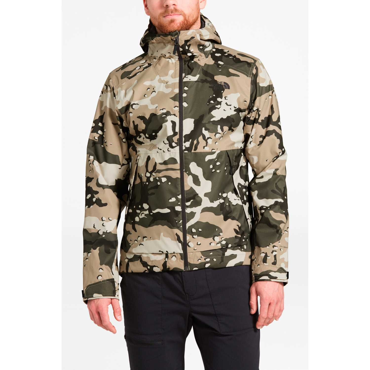 The North Face m millerton jacket Camuflado Casacas de Atletismo