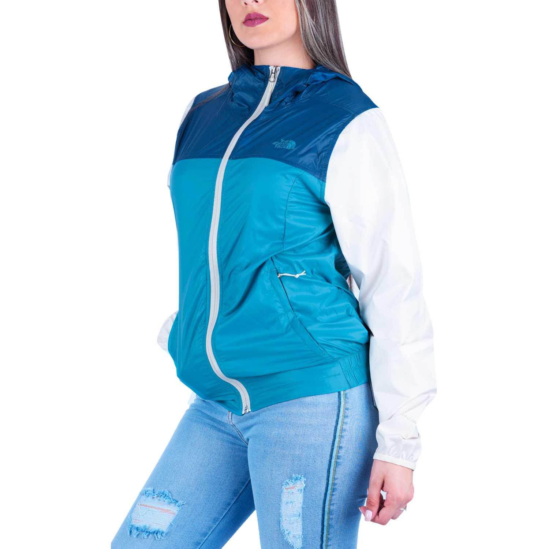 The North Face w cyclone jacket Azul / blanco Viento y Lluvia