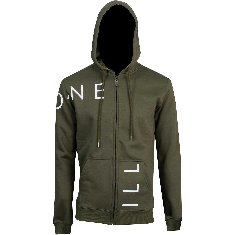 ONEILL lm cut off logo zip hoodie Verde Hoodies y Sweaters Fashion