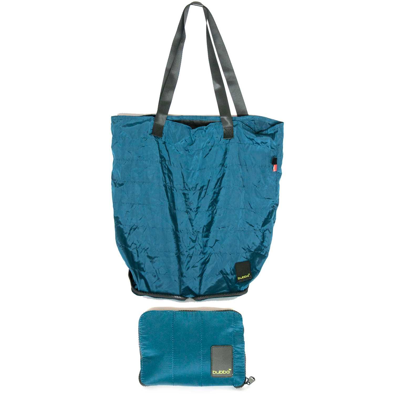BUBBA Shopping Bag Bubba Matte Acero / negro bolsos de lazo