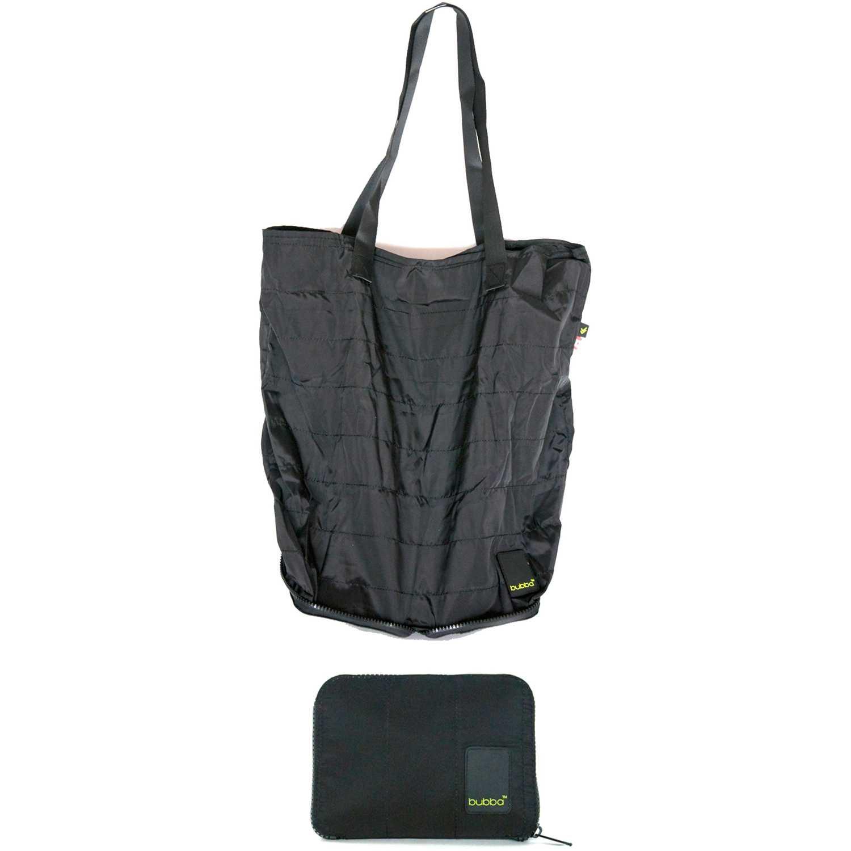 BUBBA Shopping Bag Bubba Matte Plomo / negro Bolsas con cordón para fans de deportes