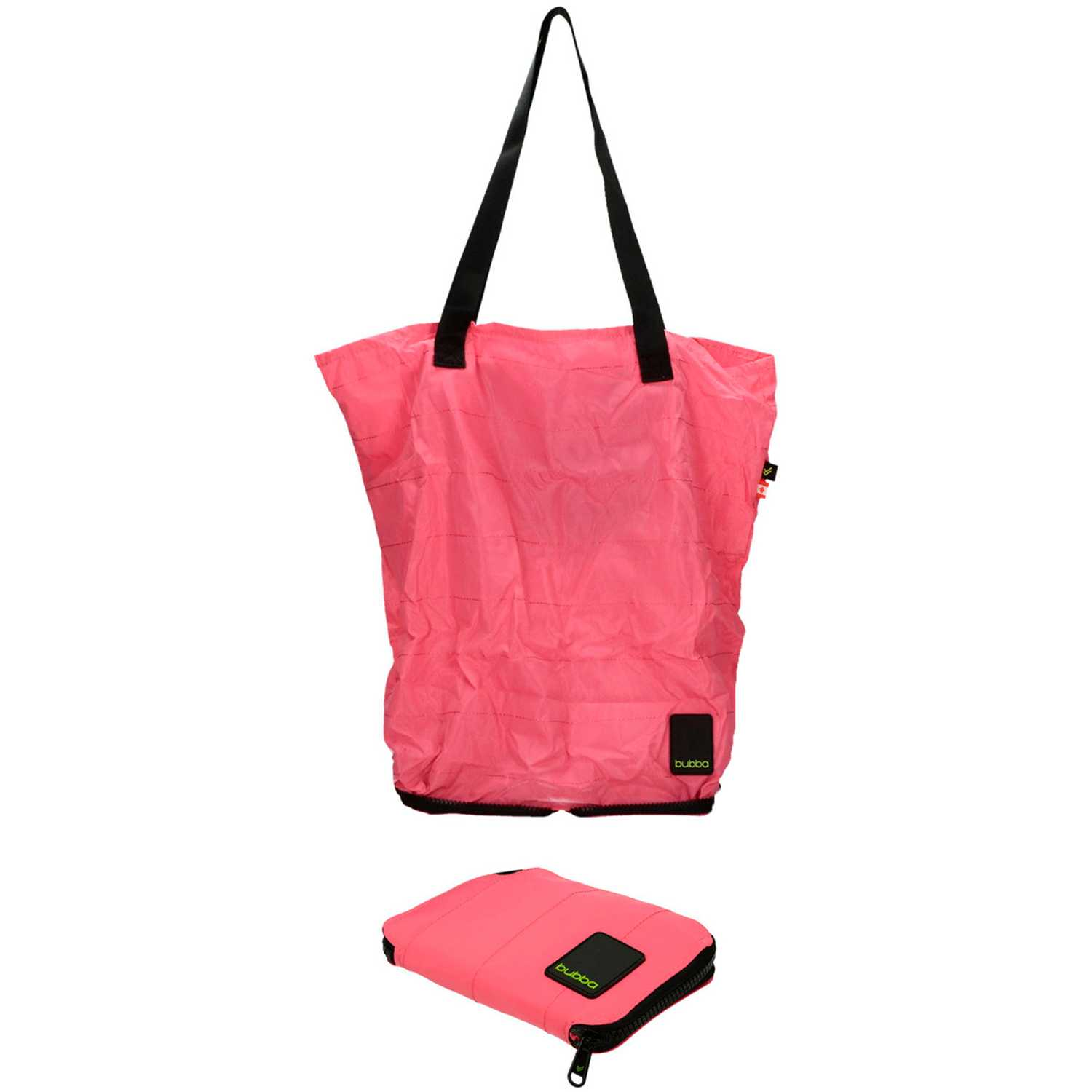 BUBBA Shopping Bag Bubba Rosado / negro bolsos de lazo