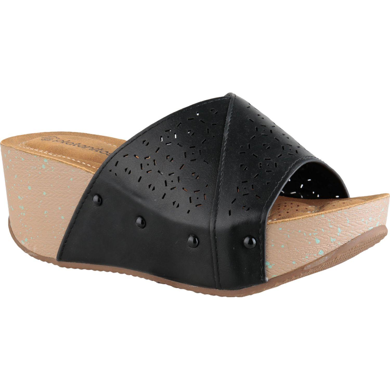 Platanitos spw 0614 Negro Plataformas & Cuñas