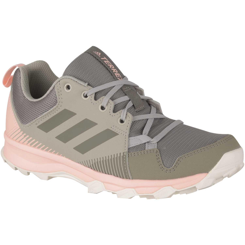 Adidas terrex tracerocker w Plomo / rosado Running en pista