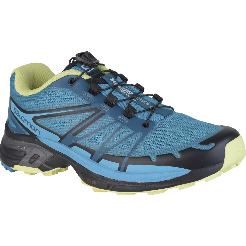 Salomon wings pro 2 ebl w Azul Calzado hiking