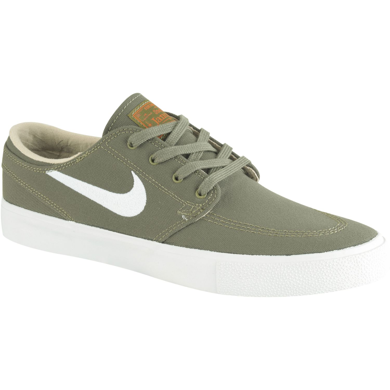 Nike nike sb zoom janoski cnvs rm Verde / blanco Walking