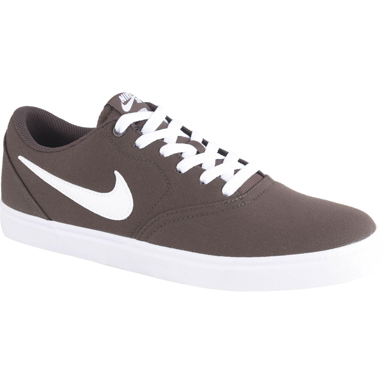 Nike nike sb check solar cnvs Vino / blanco Walking