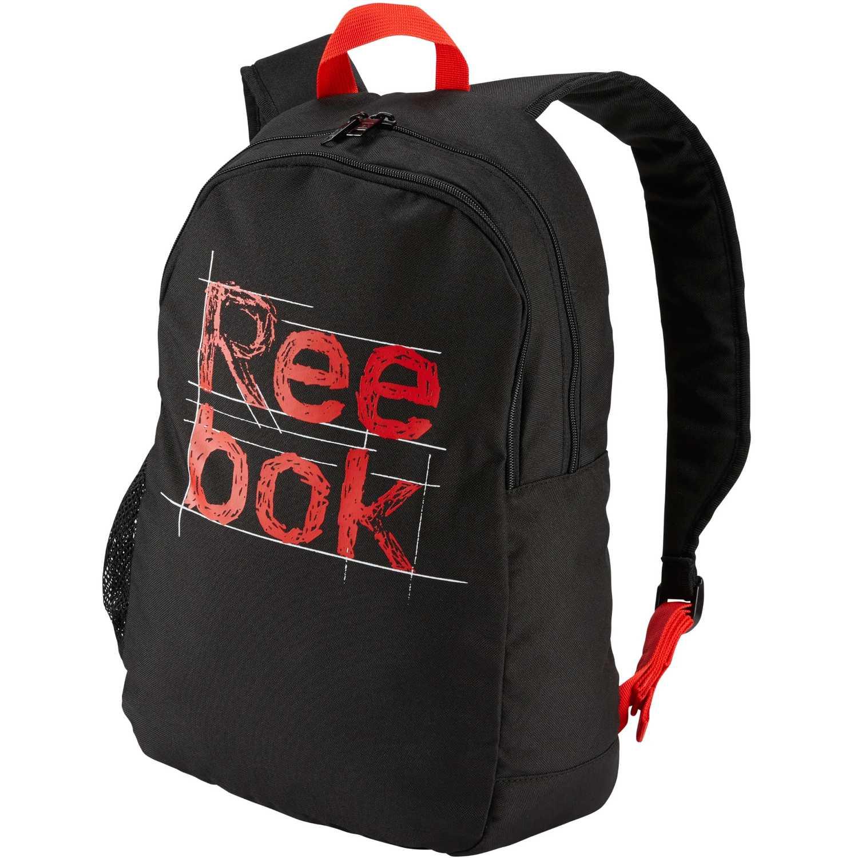 Reebok kids foundation backpack Negro / rojo mochilas