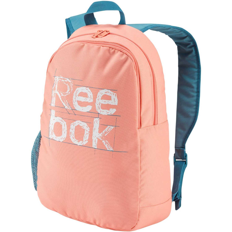 Reebok kids foundation backpack Rosado / celeste mochilas