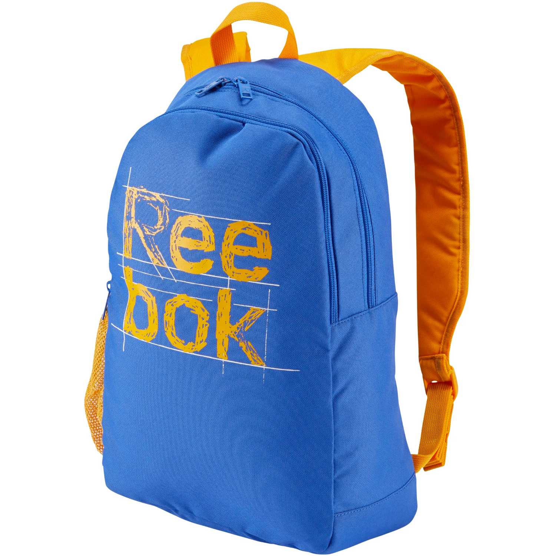 Reebok kids foundation backpack Azul / amarillo mochilas