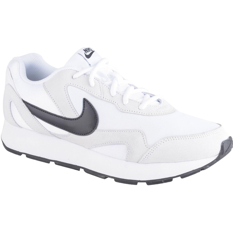 Nike nike delfine Blanco / negro Trail Running