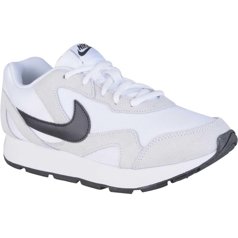 Nike Wmns Nike Delfine Gris / negro Calzado de correr