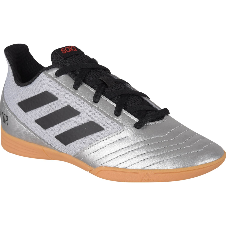 Adidas predator 19.4 in sala j Plateado / negro Muchachos