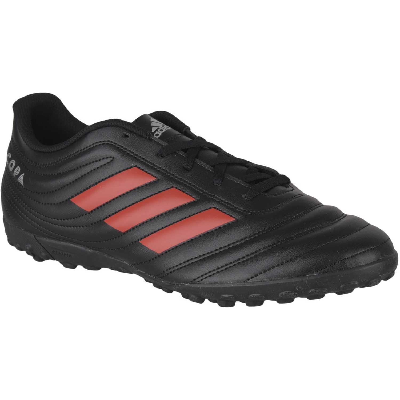 Adidas copa 19.4 tf j Negro / naranja Muchachos