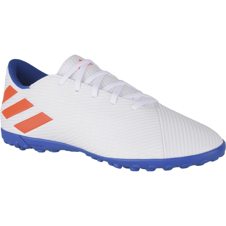 Adidas NEMEZIZ MESSI 19.4 TF Blanco / azul Hombres
