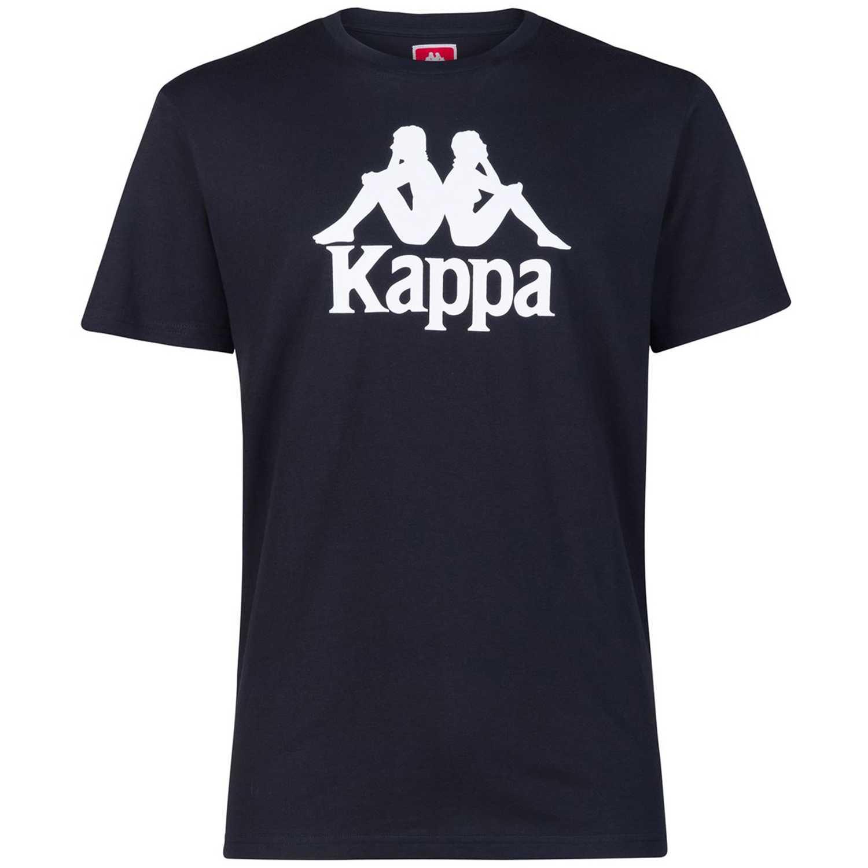 Polo de Mujer Kappa Negro / blanco authentic estessi slim