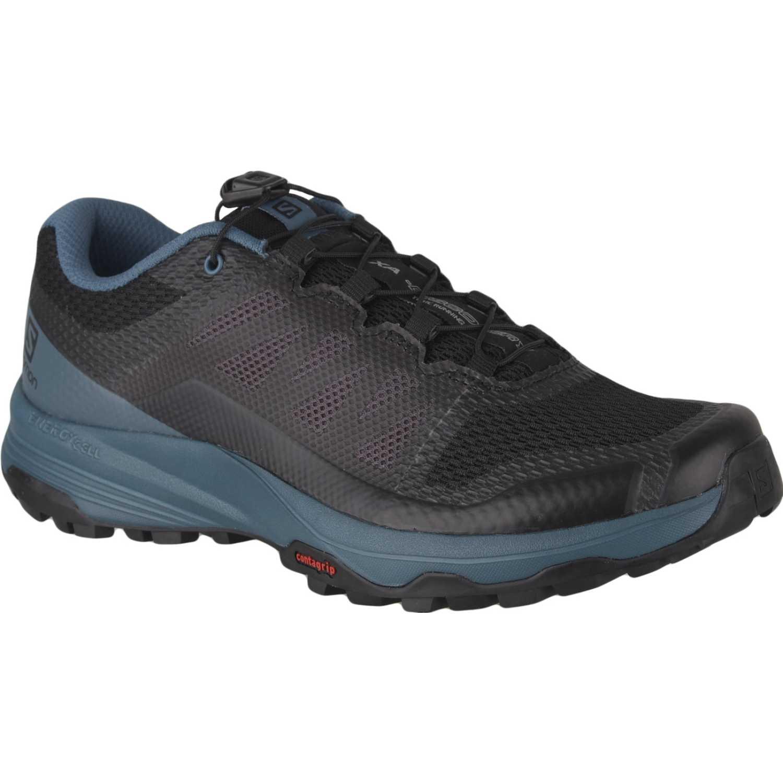 Salomon Xa Discovery Negro / azul Zapatos de senderismo