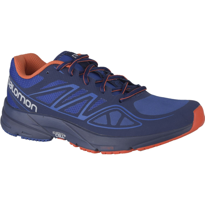 Salomon Sonic Aero M Azul / naranja Calzado de correr