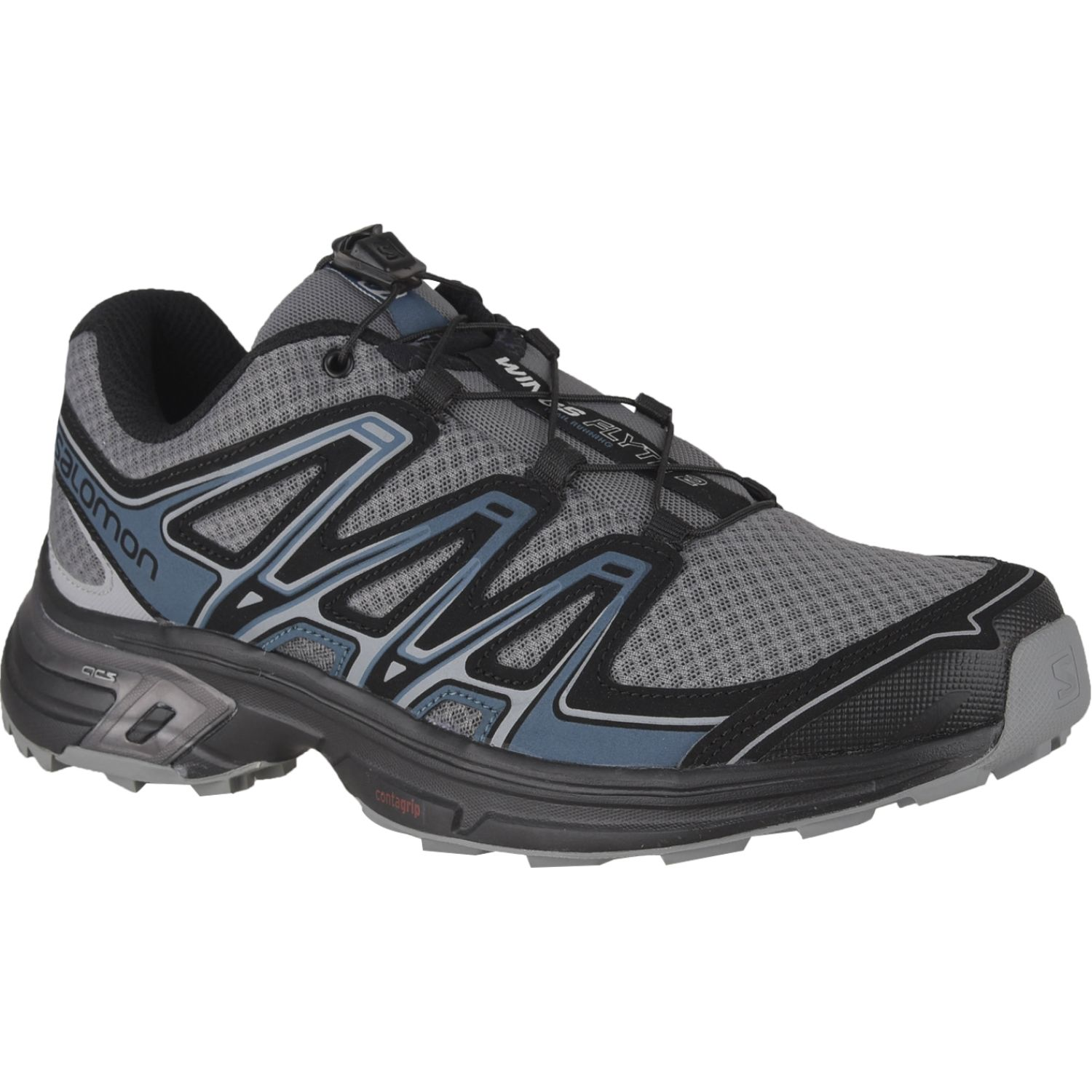 Salomon wings flyte 2 m Plomo / azul Trail Running