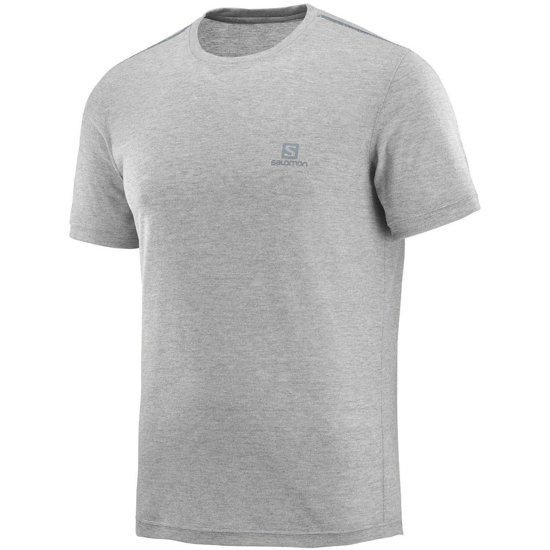 Salomon Explore Ss Tee M Gris Camisetas y polos deportivos