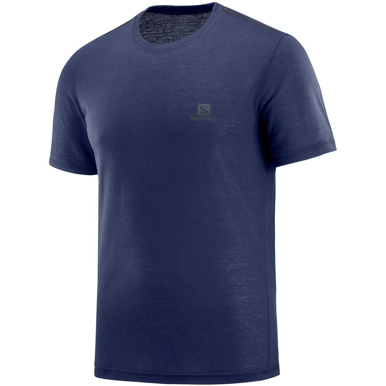Salomon Explore Ss Tee M Navy Camisetas y polos deportivos
