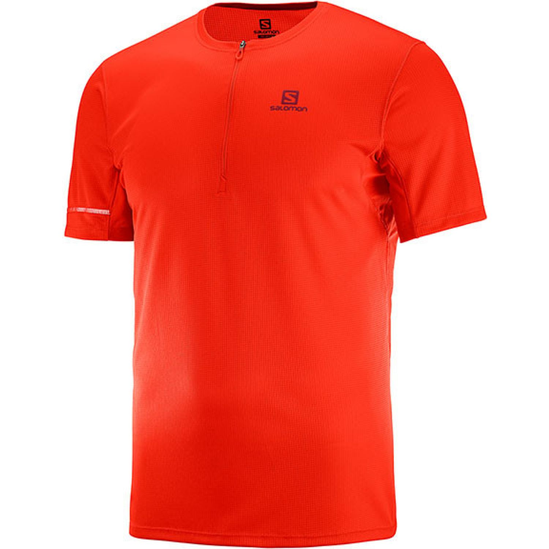 Salomon Agile Hz Ss Tee M Naranja Camisetas y polos deportivos