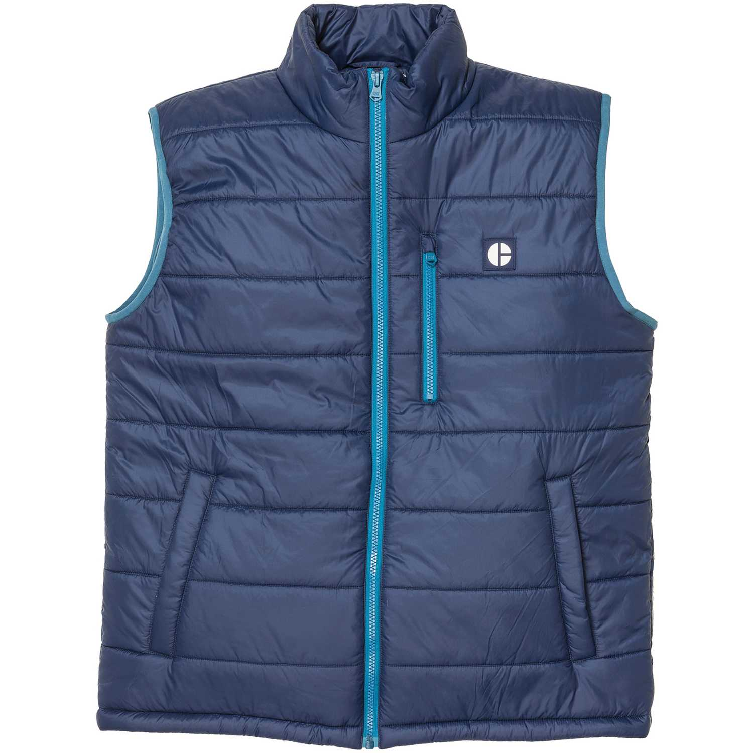 CAT phase insulated vest Azul Chalecos