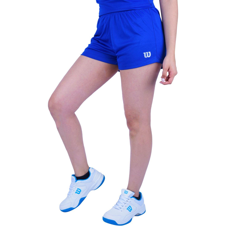 Wilson SHORT CORE II F Azul Shorts Deportivos