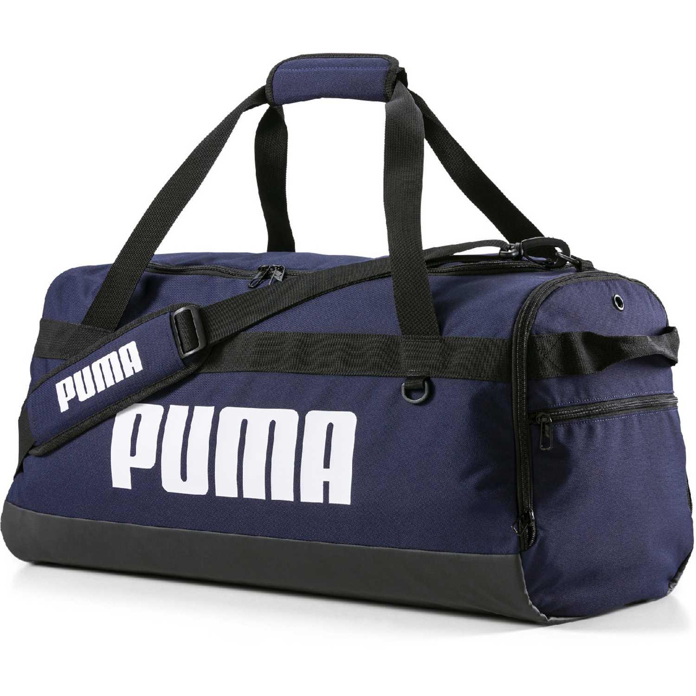 Puma Puma Challenger Duffel Bag M Azul / blanco Bolsos de gimnasio