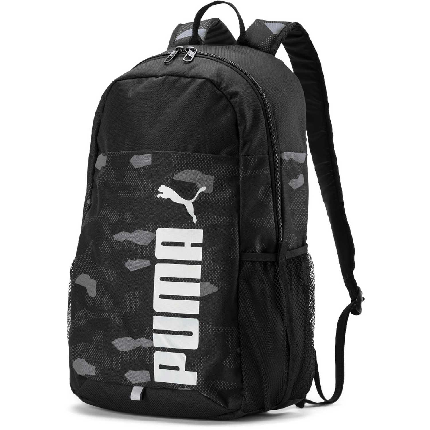 Puma puma style backpack NEGRO / GRIS Mochilas Multipropósitos