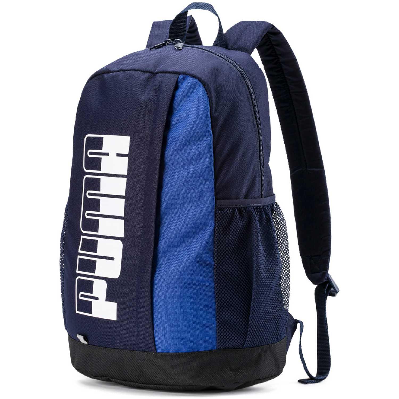 Puma puma plus backpack ii Azul / blanco Mochilas Multipropósitos
