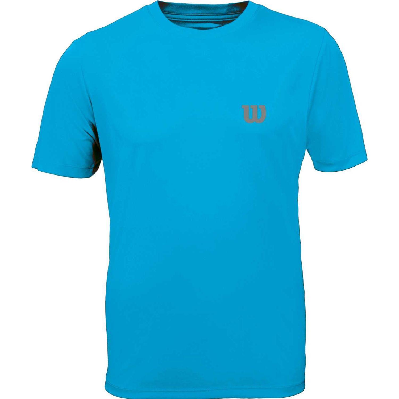 Wilson Camiseta Core Inf M Celeste Camisetas y polos deportivos