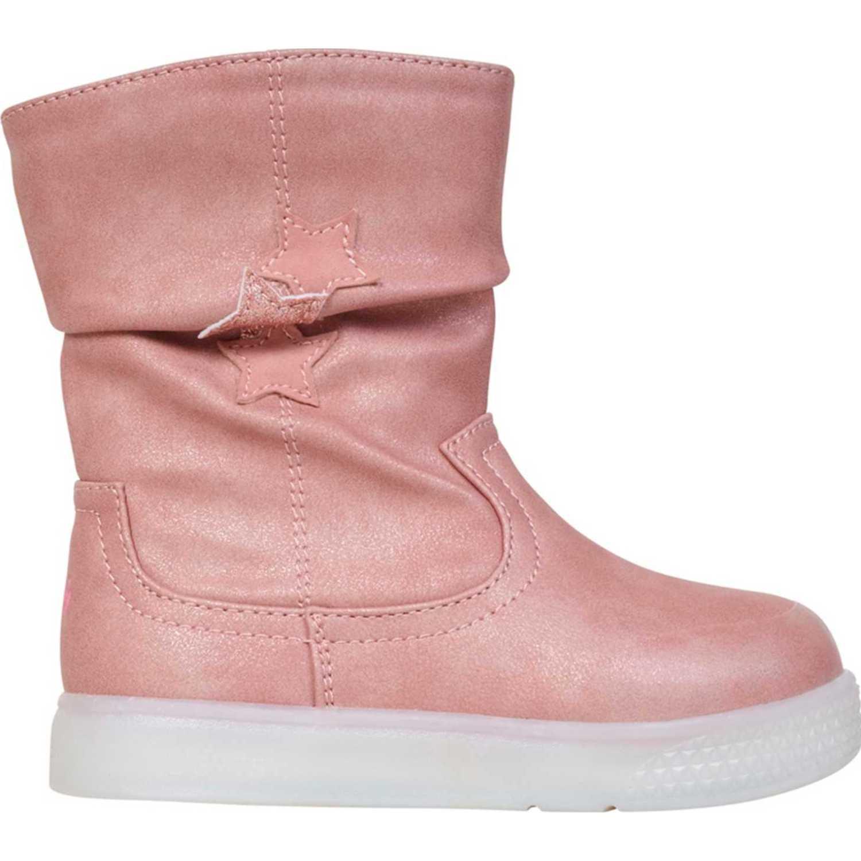 Colloky bota luces star Rosado Botas