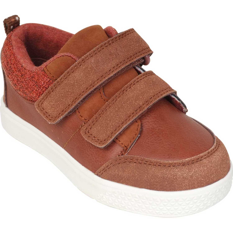 Colloky zapato casual dos velcros Rojo Suecos y Mulas