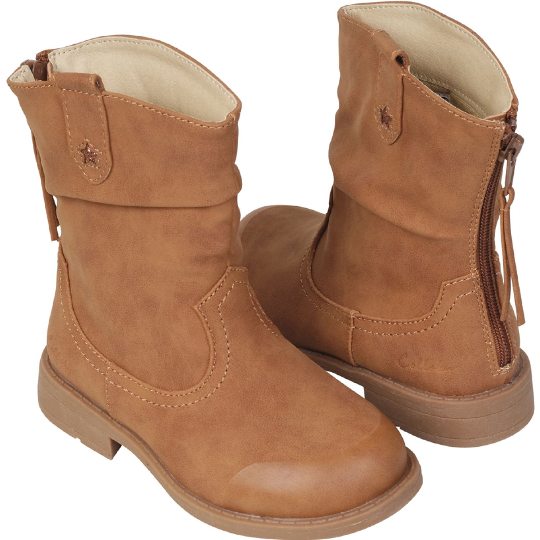 Colloky bota vaquera estrella Camel Botas